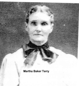 Martha Elizabeth Baker Terry (survivor)
