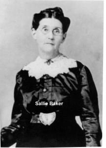 Sarah Frances Baker Gladden Mitchell (survivor)