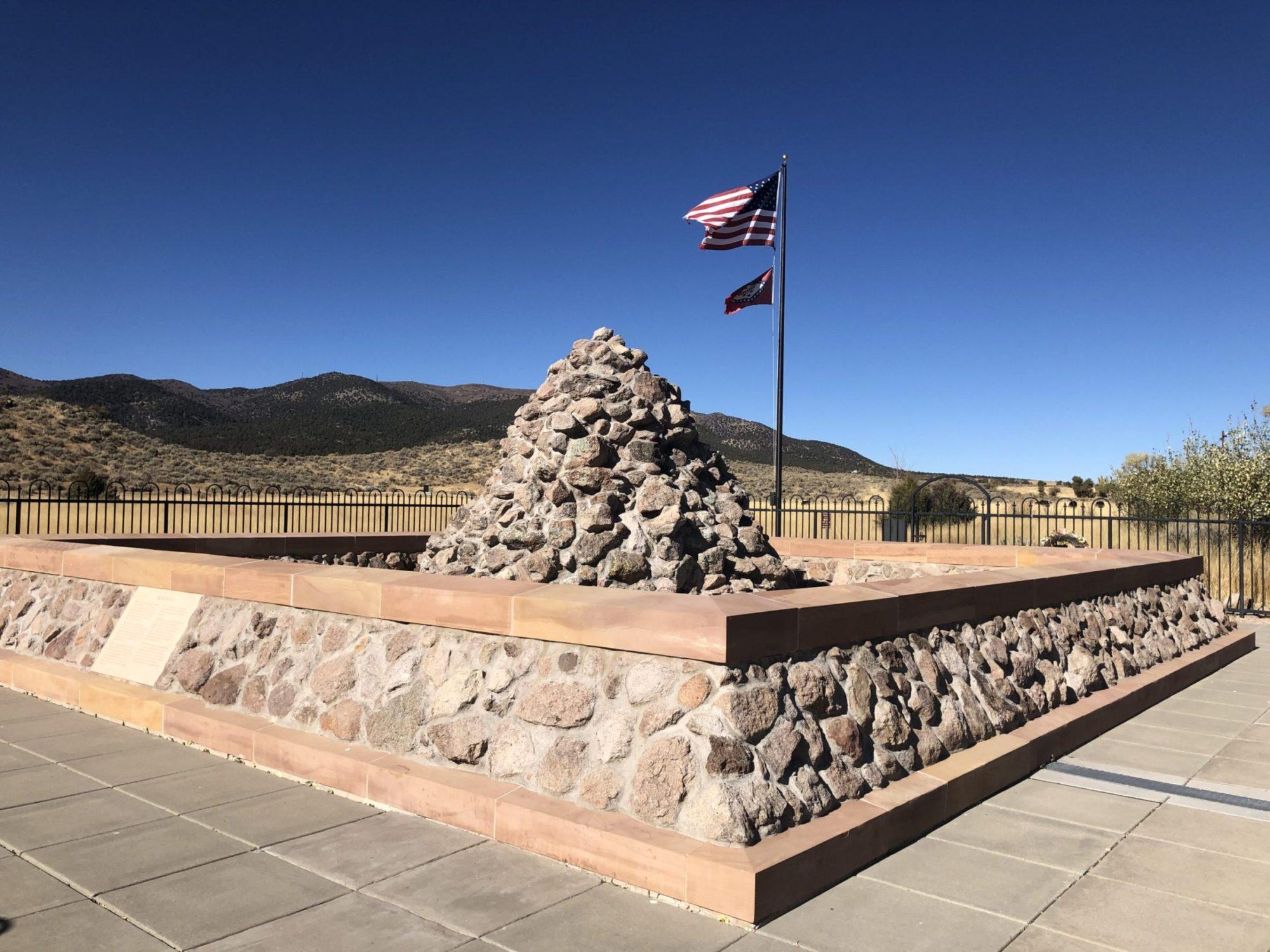 Mountain Meadows Massacre site, a National Historic Landmark